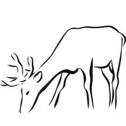 animal outlines deer outline clipart best