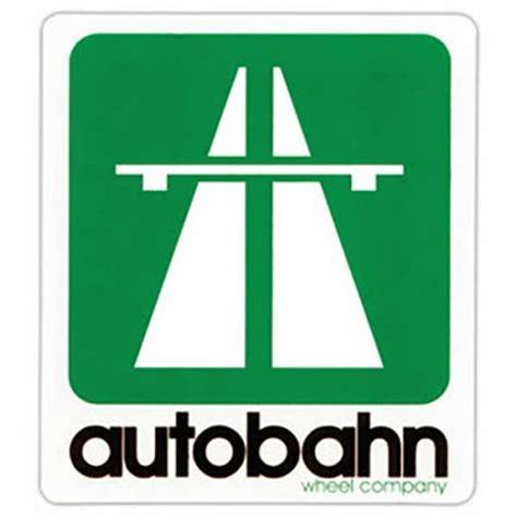 Stiker Autobahn Wheel Company autobahn wheels autobahn wheels logo sticker