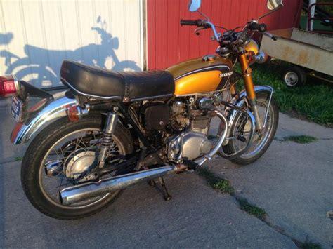 honda cb350 cb 350 k4 1971 barn find restoration project buy honda cb350 barn find runs great on 2040 motos