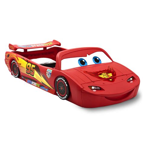 Disney Cars Bed by Delta Children Disney Pixar Cars Lightning Mcqueen