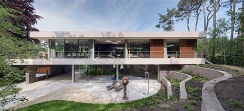 bsh home design nj hilberink bosch architecten integrates dune house with the