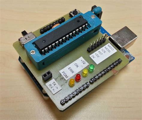 Arduino Uno Ic Smd 328p R3 arduino uno als programmeur atmega328p cadagile