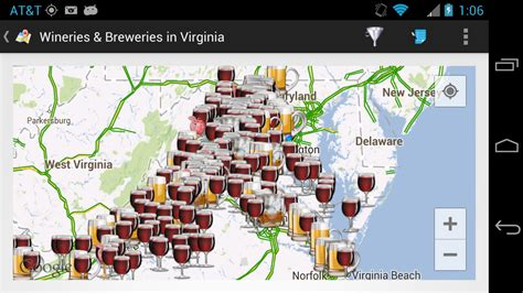 maryland breweries map winecompass thecompass winery brewery distillery
