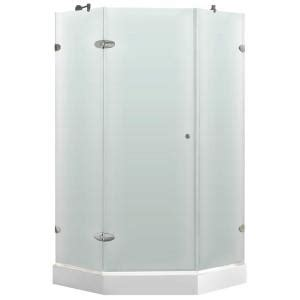 Home Depot Neo Angle Shower by Vigo 42 In X 78 In Frameless Neo Angle Shower Enclosure