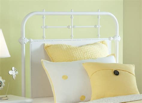 metal white headboard awesome white metal headboard ideas modern house design