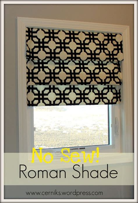 roman shade on curtain rod 17 best ideas about tension rods on pinterest tension