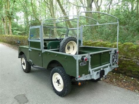 land rover series 1 437 jpu 1957 land rover series 1 galvanized chassis