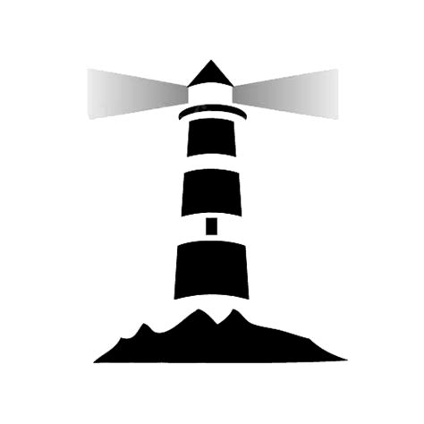 the open boat lighthouse symbol free lighthouse icon 17712 download lighthouse icon 17712