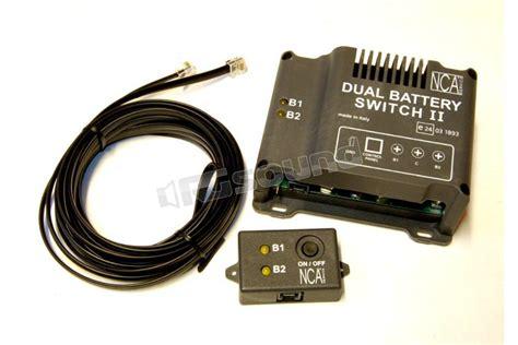 nca camping dual battery switch  accessoristica