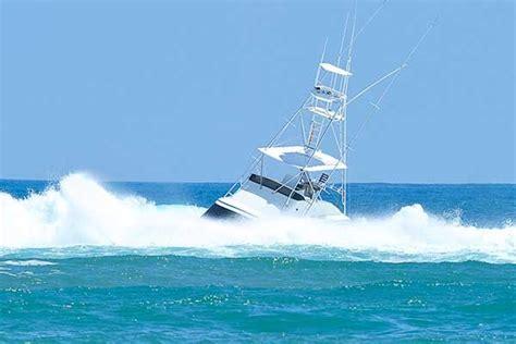 small boat in big waves wave wisdom boatus magazine