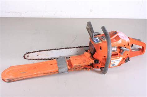 Chain Saw 36 husqvarna 36 air injection chainsaw lot 570029 allbids