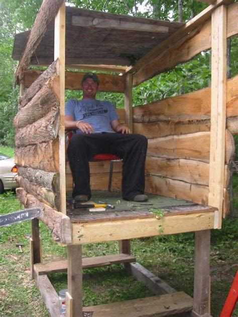 How To Build A Deer Blind Cheap Wood Box Blind Plans Win Blender