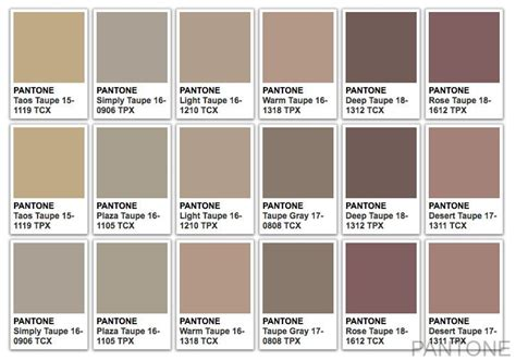 pantone taupe home furnishing 2015 fw ss colors taupe and pantone