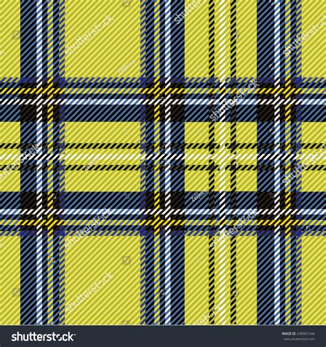 pattern colorful kilt vector illustration colorful tartan plaid fabric stock