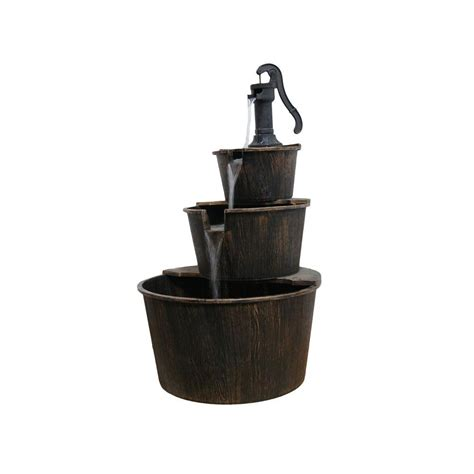 home depot outdoor decor athens stonecasting fountains outdoor decor garden