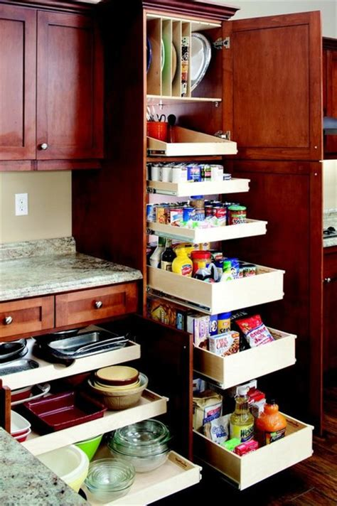 Kitchen Pantry Slide Out Shelving by Pull Out Kitchen And Pantry Shelves New York By
