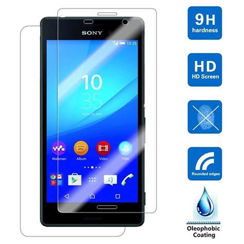 0 26mm 9h tempered glass for sony xperia z l36h z1 z2 z3