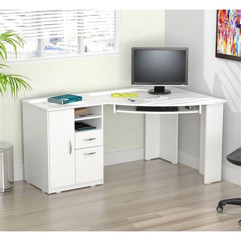 Corner White Computer Desk Best 25 White Corner Desk Ideas On Pinterest At Home Office Ideas Study Desk And Small