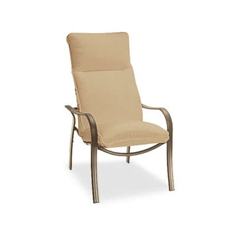 homecrest hill cushion high back dining chair