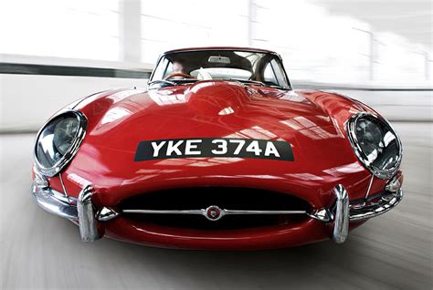 what makes the jaguar e type so pretty