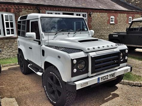 land rover bespoke matt grey bespoke defender 90 tuning special series