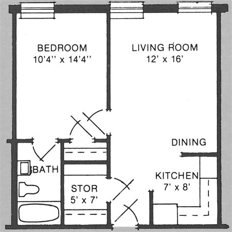 500 sq ft apartment floor plan 500 square feet apartment floor plan house design and plans