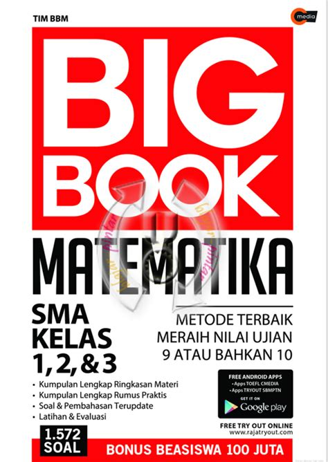 Ringkasan Praktis Latihan Soal Ipa Smpmts big book matematika sma kelas 1 2 dan 3 blajar pintar