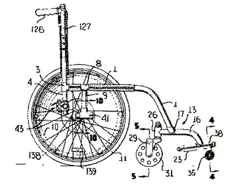 how to make a wheelchair larry rudwick patents wheeled vehicles