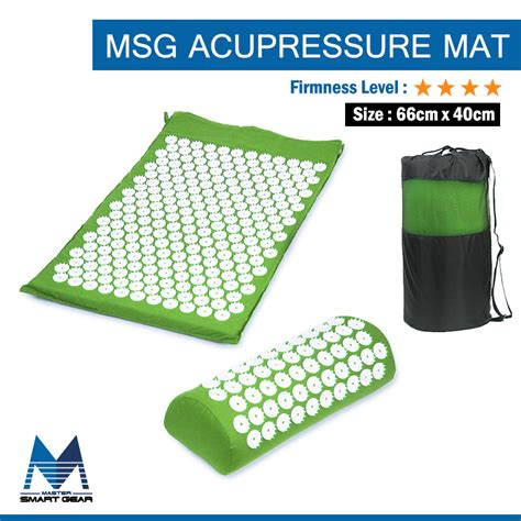 Best Acupressure Mat by Aliexpress Buy Best Acupressure Mat And Pillow Set