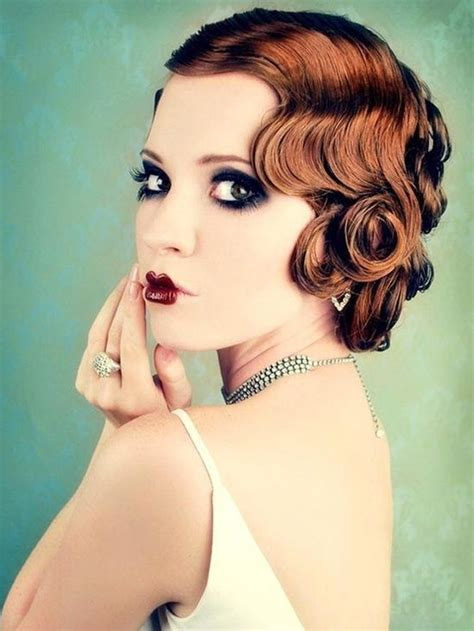 short 20s style curl 32 best images about 1920 s hair and makeup styles on