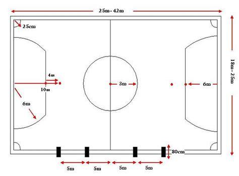 mengenal ukuran gawang pada lapangan futsal artikel indonesia terbaik