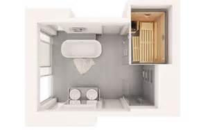 badezimmer 6 m2 klafs planungsideen