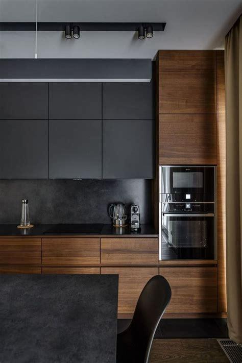 cocinas negras  querras copiar  fotos decoracion hogar