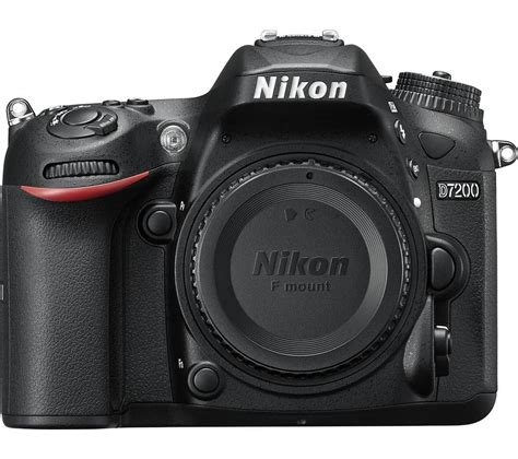 buy nikon d7200 dslr only free delivery currys