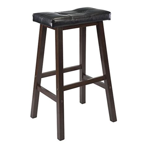 modern black leather bar stools wood kitchen counter 1 bar stool seat black leather modern
