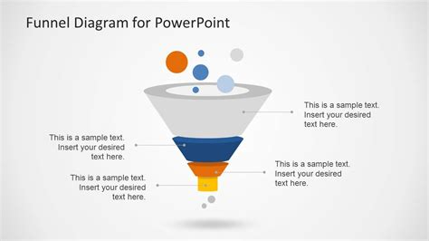 Creative Funnel Diagram Template For Powerpoint Slidemodel Funnel Chart Powerpoint