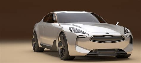 Kia Luxury Brand Could The 2018 Stinger Make Kia The Next Three Letter