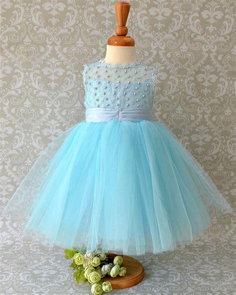 light blue flower dresses light blue baby flower dress occasion dress
