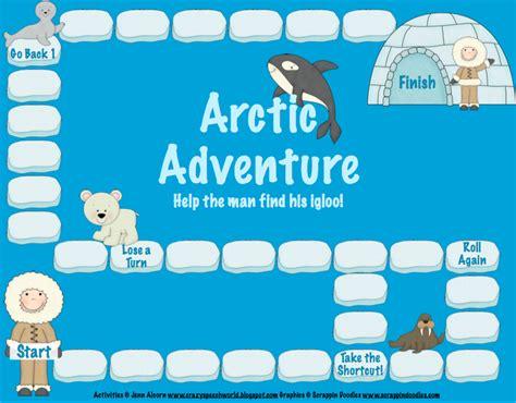 printable articulation board games arctic articulation part 1