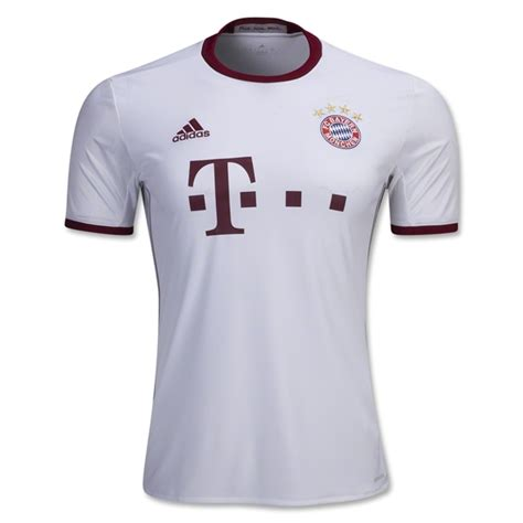 Jersey Bayern Munchen Away 1617 Fullpatch Bundesliga bayern munich 3rd football shirt 16 17 soccerlord