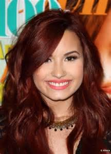 demi color with auburn hair hairstyle gallery