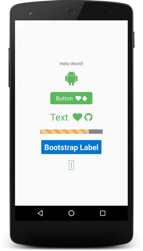 bootstrap themes android android shapeを使ってカスタムボタン作成