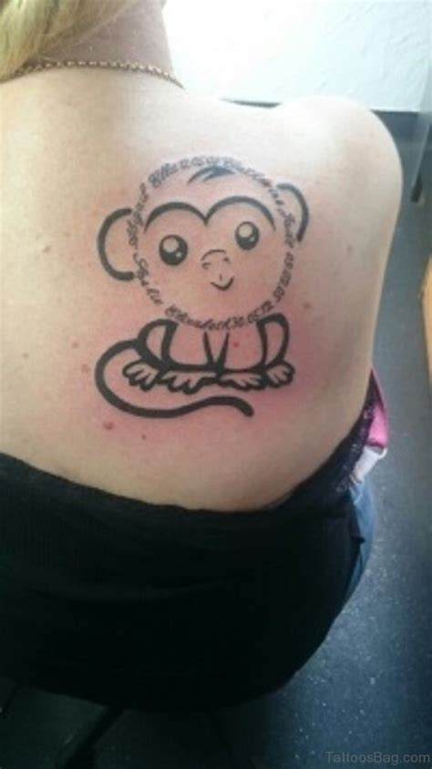 cute monkey tattoo designs 49 excellent monkey shoulder tattoos