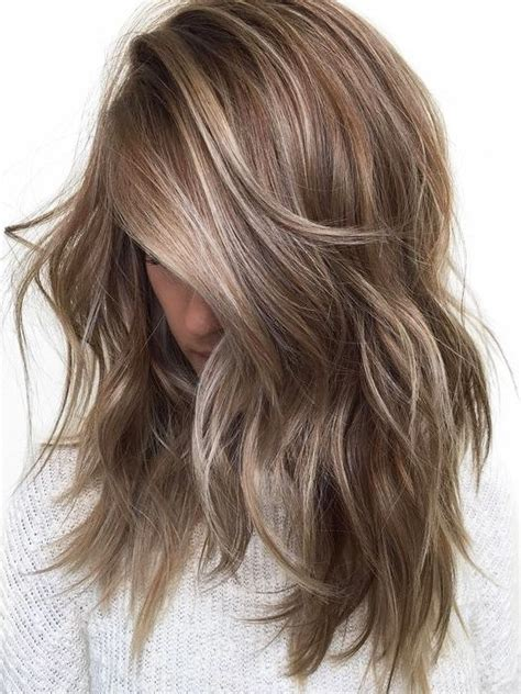 hair color style 20 refreshing medium length hair colour styles in 2019