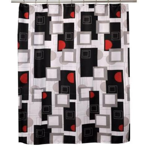 urban beat shower curtain famous home fashions urban beat multi shower curtain