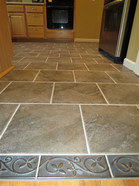 Ceramic Tile Kitchen Floor Designs Tile Hardwood Floor Flooring Ideas Home