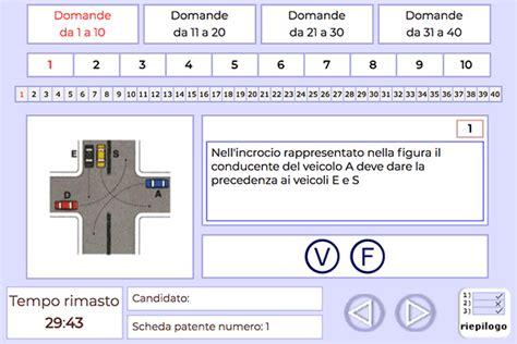 test ministeriali patente quiz ministeriali patente b cinemas 93