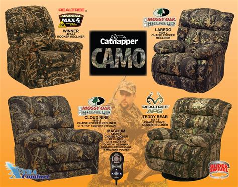 realtree camouflage rocker recliner winner max 4 realtree camouflage rocker recliner by