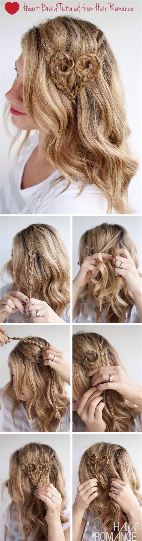 braided hairstyles heart 20 most beautiful braided hairstyle tutorials for 2014