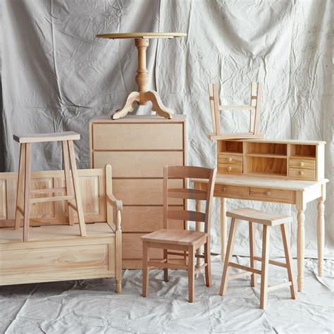 customizing unfinished furniture martha stewart